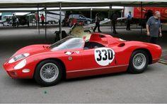 1964 Ferrari 330 P Spyder Fantuzzi - forza-rossa.over-blog.com