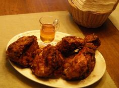 Buttermilk Fried Chicken with Spicy Honey Dizzle