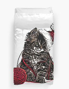 Duvet Cover Drawstring Backpack, Duvet Covers, Tee Shirts, Cats, Stuff To Buy, Women, T Shirts, Gatos, Tees