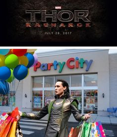 Loki is ready to Ragnarok and roll. ------<<< AAAAAHHHHH GUYS!! How to live with a demigod 101!!!! If anyone has not read that fan fic, read it instantly. It's got to be the best humorous Avengers one I have ever read.