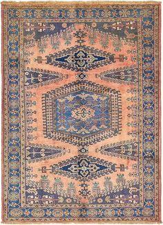 Red 7' x 10' Viss Persian Rug | Persian Rugs | eSaleRugs