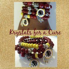 Washington Redskins Bracelet Set