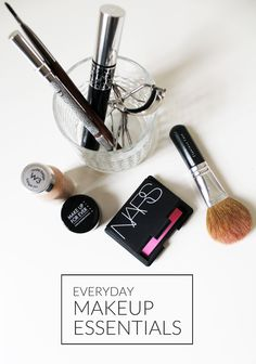 makeup essentials.
