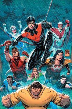 Justice League Univers Tome 13 - La révélation des Titans ! (3 mars 2017) // La révélation des Titans ! Avec Paulo Siqueira au dessin, Dan ABNETT poursuit la quête des Titans ! Dick Grayson, Garth, Donna, Roy, Mal, Lilith et Gnarrk cherchent toujours à connaître le noir secret qui semble les lier, mais ils sont à court de temps… Réussiront-ils à rassembler les pièces du puzzle encore incomplet de leurs souvenirs ? #justice #league #urban #comics