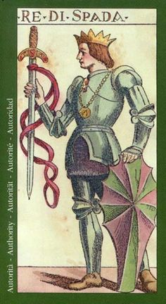 King of Swords - Tarot of the Master