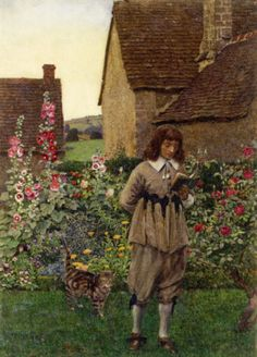 """Pride and Ambition here / Only in far-fetcht metaphors appear; / Here nought but winds can hurtful murmurs scatter, / And nought but Echo flatter."" — ABRAHAM COWLEY —— Eleanor Fortescue-Brickdale Illustrations: The Book of Old English Songs and Ballads Most Popular Artists, English Artists, Pre Raphaelite, Old Master, Old English, Golden Age, Les Oeuvres, The Book, Illustrators"
