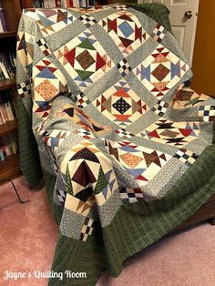 Jayne's Quilting Room: A Finish! (Almost)