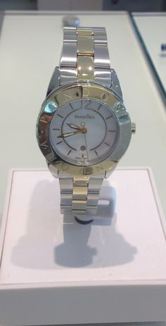 PANDORA two tone watch. Just need to buy this strap for my Imagine watch to go with my bracelet