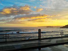 Mirando a la Isla de Mouro...