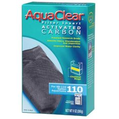 (6 Pack) Aquaclear 110 Activated Carbon Insert -- You can learn more by visiting the image link. (This is an affiliate link and I receive a commission for the sales)