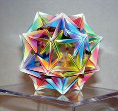 Origami Ball. $20,00, via Etsy.