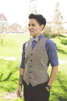bow ties and vests