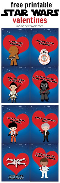 Star Wars Printable Valentines
