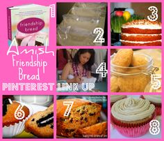 SusieQTpies Cafe: Pinterest Blog Hop Link up! Amish Friendship Bread