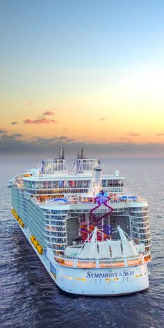 """Awesome """"Royal Caribbean ships""""x info is offered on our web pages. Read more and you wont be sorry you did. Biggest Cruise Ship, Best Cruise Ships, Cruise Boat, Cruise Travel, Cruise Vacation, Luxury Cruise Ships, Royal Caribbean Ships, Royal Caribbean Cruise, Symphony Of The Seas"""