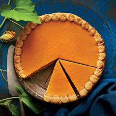 Simply put, the classic pumpkin pie doesn't get much easier than this. To prevent a soggy crust, use a metal pie pan and prebake your crust with pie weights.