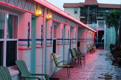 Magic Beach Motel in Florida - by Vanessa Alvarado