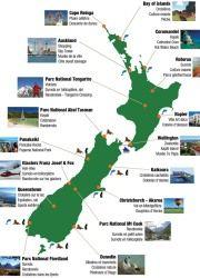 Cartes activités Nouvelle-Zélande Frogs Voyages