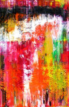 Original painting: Red Horizon