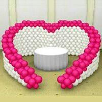 Heart Balloon Wall