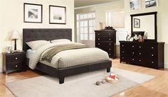 Leeroy 5 PC Bedroom Set by Furniture of America