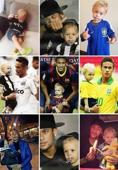 Neymar and his son Lucca Brazilian Soccer Players, Good Soccer Players, Football Players, Neymar Jr, Football Is Life, Sport Football, Daddy And Son, Father And Son, Fc Barcelona