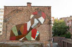 #Streetart: #Strook by #StefaanDeCroock #arte #art #urbanart