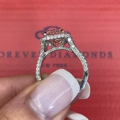 Luxury Engagement Rings, Split Shank Engagement Rings, Unique Rings, Beautiful Rings, Forever Diamonds Ny, Diamond Are A Girls Best Friend, Glitters, Bling, Wedding Rings