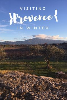What can you do in the south of France during the winter? You don't need beaches or lavender to enjoy the region. Provence has a foodie experience awaiting that you won't want to miss!