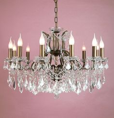 ABSOLUTELY STUNNING 3FOOT WIDE FRENCH CRYSTAL CHANDELIER   United ...