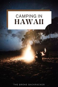 Camping Guide, Camping Spots, Best Places To Camp, Hawaii Volcanoes National Park, Amazing Sunsets, Snorkelling, White Sand Beach, Big Island, Kauai