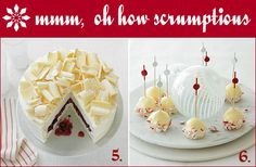 How Posh, Red and White Holiday Desserts | Oh How Posh