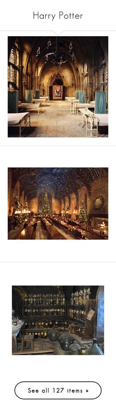 """""""Harry Potter"""" by too-broken-for-fun ❤ liked on Polyvore featuring harry potter, backgrounds, hogwarts, hp, images, pictures, pics, other, photos and brown"""