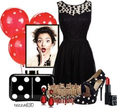 """""""That Little Black Clutch - set II"""" by tezza630 on Polyvore"""