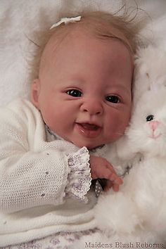 "Wonderful Reborn Baby Doll KIT ""Isis"" by Sebilla Bos - Nicky Creation"