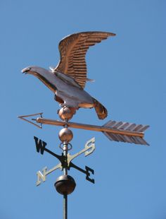 Eagle Weather Vane Antique by West Coast Weathervanes.
