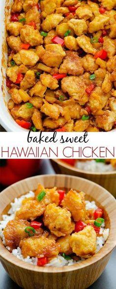 Programme du régime   :     Poulet hawaïen cuit au four – La vie dans le lofthouse  - #PerdreDePoids