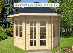 Gartenpavillon Selber Bauen: Unser Hochwertiger Gartenpavillon Aus Holz Und  Mit Spitzdach Lädt Bei Gutem Sowie