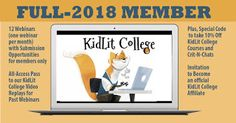 Literally Lynne Marie: Have YOU Grabbed Your 2018 Kidlit College Membersh...