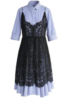 Romance with Stripes Twinset Dress - New Arrivals - Retro, Indie and Unique Fashion