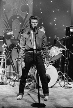 Bowie on Tonight Show with Johnny Carson, September 1980