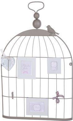 Decoratie vogelkooi