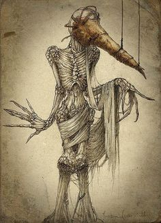 Las pesadillas ilustradas de Skirill Kirill