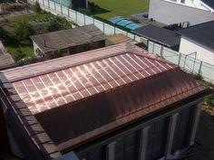 Copper Roof, Modern Architecture, Outdoor Decor, Home Decor, Copper Ceiling, Decoration Home, Room Decor, Modernism, Home Interior Design