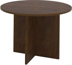 Merritt Commercial Grade Round Home Business Office Meeting Conference Table