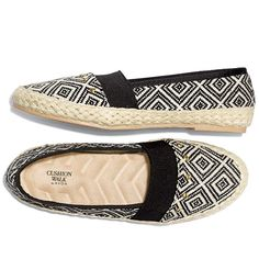 Summer just wouldn't be the same without espadrilles. These easy slip-ons are a great summer trend. Espadrilles are the go-to shoe pick for summer. Our espadrille flats are styled with cool colors and graphic patterns, plus they have a comfy Cushion Walk® sock and footbed. Regularly $34.99, buy Avon Fashion products online at http://eseagren.avonrepresentative.com