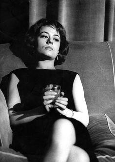 Annie Girardot in Rocco e i suoi fratelli directed by Luchino Visconti, 1960. Photo by Giovan Battista Poletto