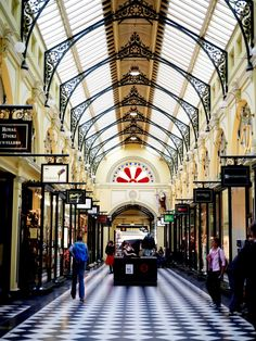 With quirky and super-Instagrammable shops and eateries, there's always something new in Melbourne's laneways and arcades. Melbourne Laneways, Arcade, Beautiful Places, Shops, Walking, Street View, Backyard, Urban, In This Moment