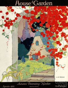 House and Garden 1922.  Beautiful cover.