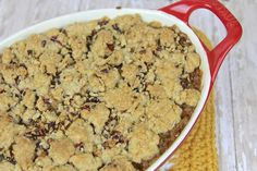 Baked Rice Apple Crisp